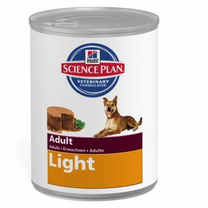 SP Canine Adult Light con Pollo (lata) 12x370g