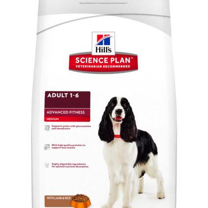 SP Canine Adult Advance Fitness Razas Medianas con Cordero y Arroz