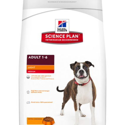 SP Canine Adult Light Razas Medianas con Pollo