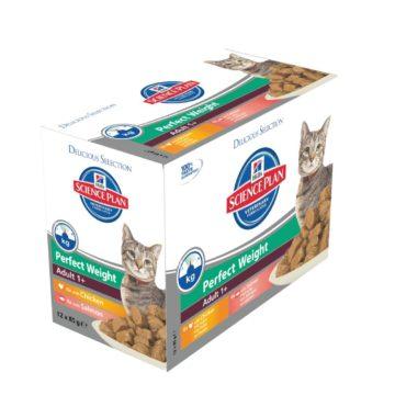 SP Feline Adult Perfect Weight Multipack (bolsita) 12x85g
