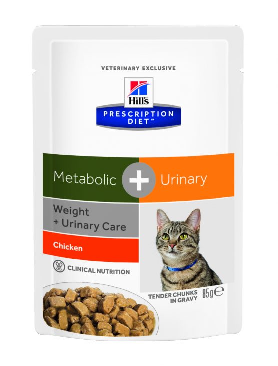 PD Feline Metabolic + Urinary (bolsita) 12x85g