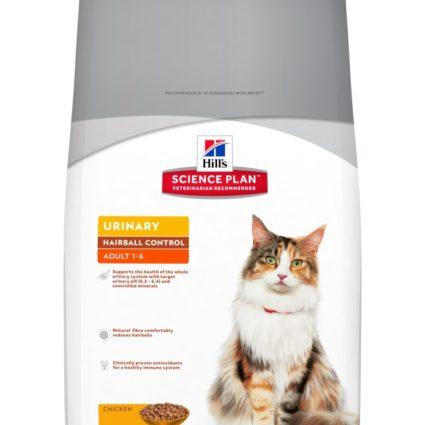 SP Feline Adult Urinary Hairball Control Pollo 1,5 kg