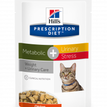 PD Feline Metabolic + Urinary Stress (bolsita) 12x85g