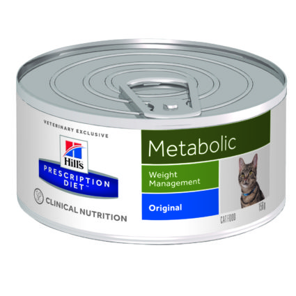 PD Feline Metabolic (lata) 24x156g