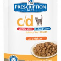 PD Feline c/d Urinary Stress Reduced Calorie Pollo (bolsita) 12x85g
