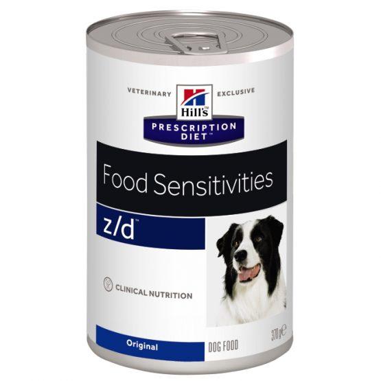 PD Canine z/d (lata) 12x370g
