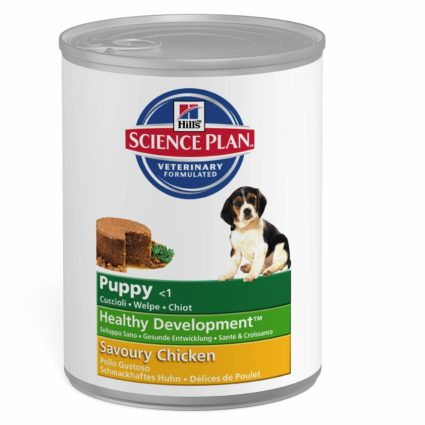 SP Puppy con Pollo (lata) 12x370g