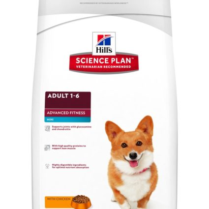 SP Canine Adult Advance Fitness Mini con Pollo
