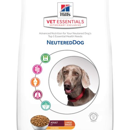 VE Canine Neutered Dog Razas Grandes 12kg