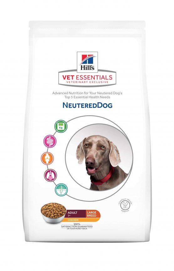 VE Canine Neutered Dog Razas Grandes 12kg