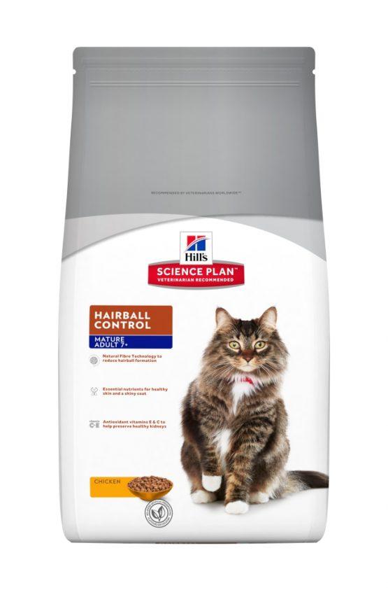 SP Feline Mature Adult 7+ Hairball 1,5kg