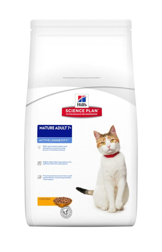 SP Feline Mature Adult 7+ Active Longevity con Pollo