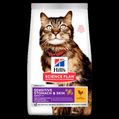 SP Feline Adult Sensitive Stomach & Skin 1,5kg