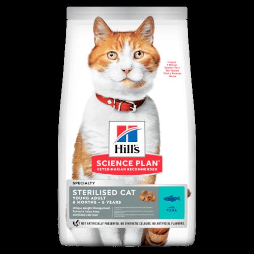 SP Feline Young Adult Sterilised Cat Atún