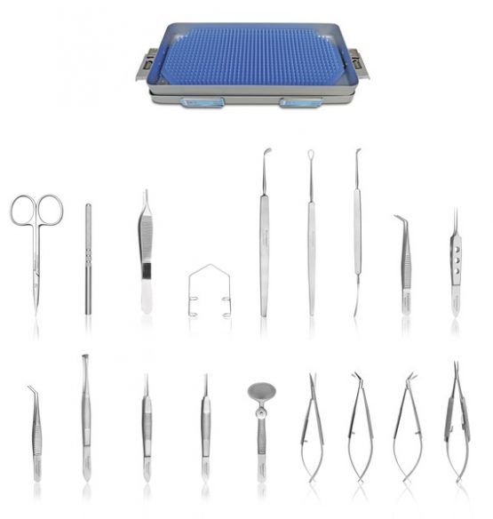 Kit avanzado (cirugías oftálmicas)