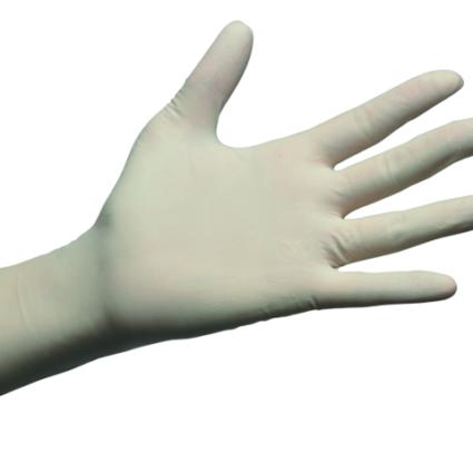 Dermoflex® Guantes de examen no estériles de látex con polvo – fino