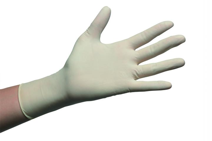 Dermoflex® Guantes de examen no estériles de látex sin polvo – fino