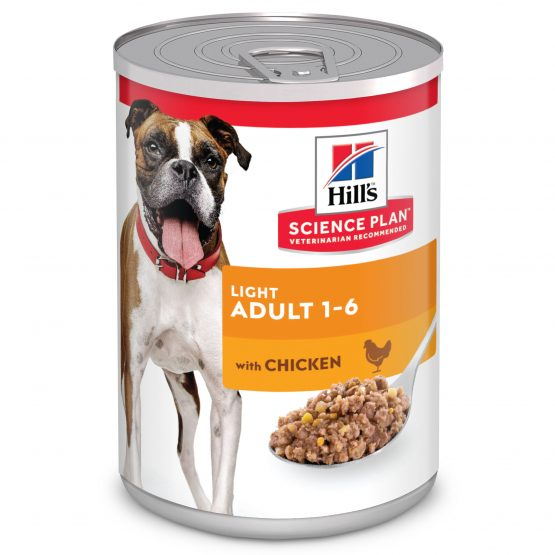 SP Canine Adult Light con Pollo (lata) 12x370g