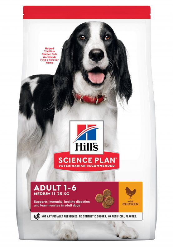 SP Canine Adult Advance Fitness Razas Medianas con Pollo