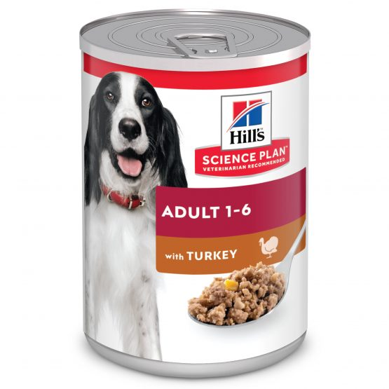 SP Canine Adult con Pavo (lata) 12x370g