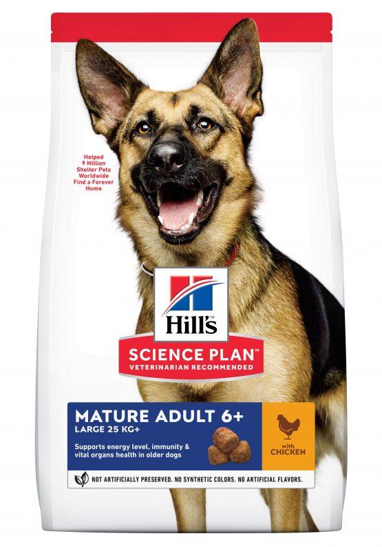 SP Canine Mature Adult 5+ Active Longevity Razas Grandes con Pollo 14kg