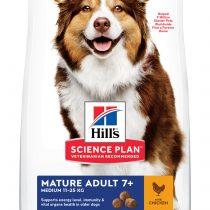 SP Canine Mature Adult 7+ Active Longevity Razas Medianas con pollo