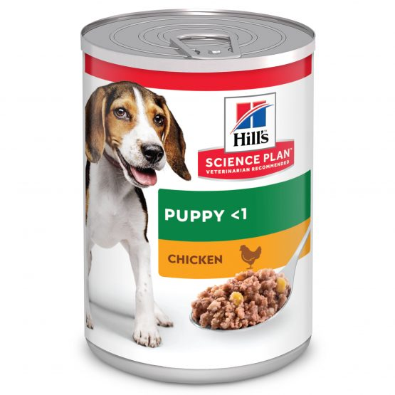 SP Puppy con Pollo (lata) 12x370g