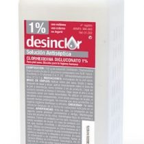 CLORHEXIDINA DESINCLOR SOLUCIÓN COLOR 1% 500ML