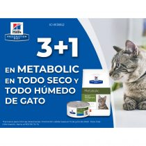 3+1 en Metabolic de gato