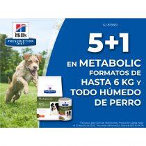 5+1 en Metabolic hasta 6kg
