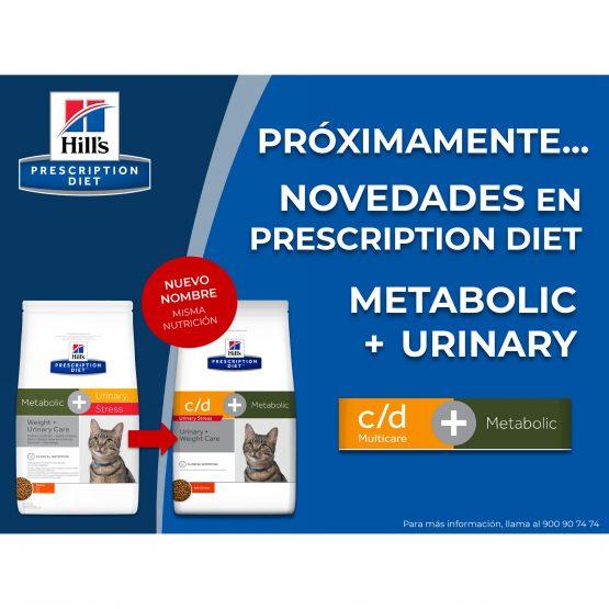 PRÓXIMAMENTE… Novedades en Prescription  diet