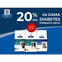 20% DTO. EN GAMA DIABETES FORMATO SECO