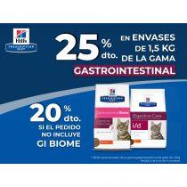 25% DTO. EN LA GAMA GASTROINTESTINAL GATO