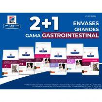 2+1 EN ENVASES GRANDES DE LA GAMA GASTROINTESTINAL