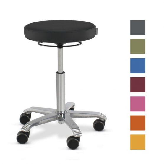 Taburetes sillines MEDICAL (coloridos y ajustables), Eickemeyer