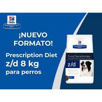¡NUEVO FORMATO! Prescription Diet z/d 8 kg para perros