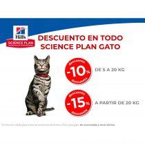 DESCUENTO EN TODO SCIENCE PLAN GATO