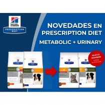 NOVEDADES EN PRESCRIPTION DIET