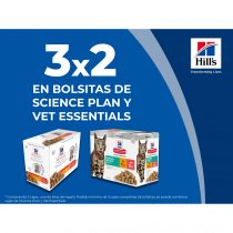 3×2 EN BOLSITAS DE SCIENCE PLAN Y VET ESSENTIALS