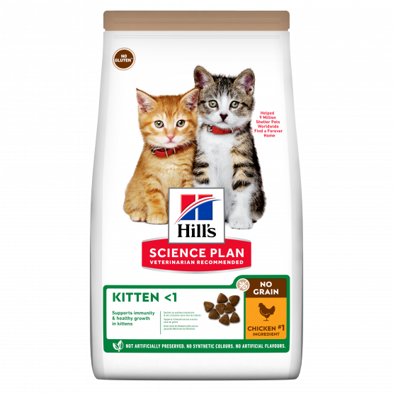 SP Feline kitten No Grain Pollo 1.5 Kg.