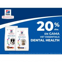 20% DTO. EN GAMA VET ESSENTIALS DENTAL HEALTH