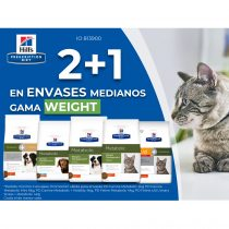 2+1 EN ENVASES MEDIANOS GAMA WEIGHT