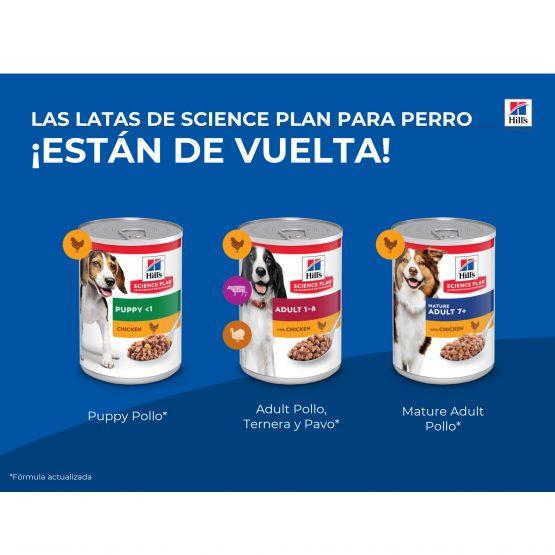 LAS LATAS DE SCIENCE PLAN PARA PERRO ¡ESTÁN DE VUELTA!