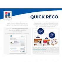 Hill's Quick Reco facilita tu recomendación nutricional