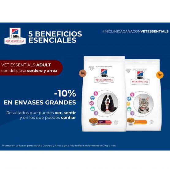 -10% EN ENVASES GRANDES VET ESSENTIALS ADULT