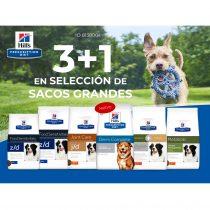 3+1 EN SELECCIÓN DE SACOS GRANDES