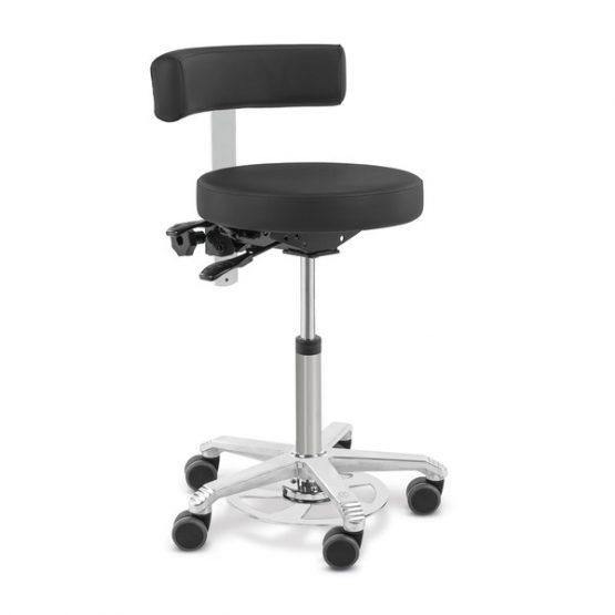 Sillón para tratamiento SCORE® MEDICAL con soporte lumbar y reóstato de pie, Eickemeyer