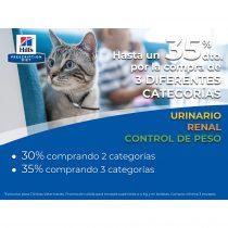 HASTA UN 35 % dto. por la compra de 3 DIFERENTES CATEGORÍAS