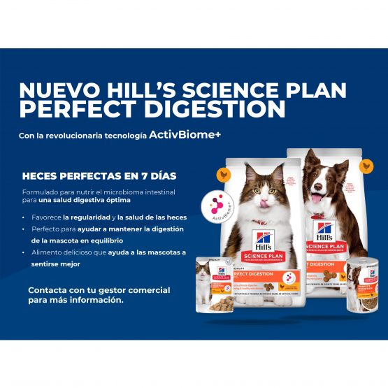 NUEVO HILL'S SCIENCE PLAN PERFECT DIGESTION
