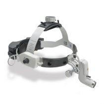 Lámpara craneal HEINE® ML4 LED con mPack UNPLUGGED (inalámbrica)